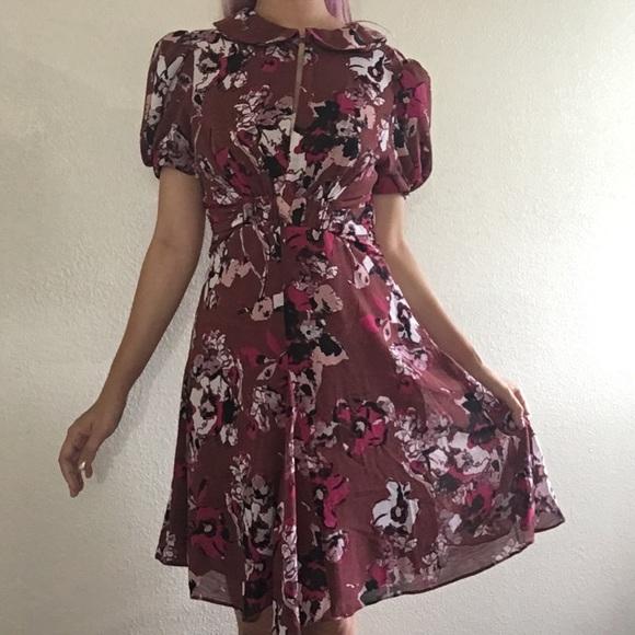 Karl Lagerfeld Dresses   Skirts - SALE🌹 Karl Lagerfeld x Macy s Floral  Dress 98bbffa4ae51